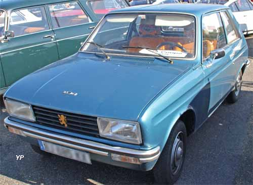 peugeot 104 coup guide automobiles anciennes. Black Bedroom Furniture Sets. Home Design Ideas