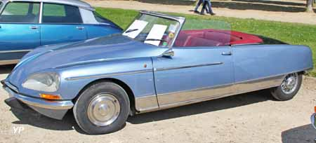 Citroën DS 21 cabriolet Chapron le Caddy
