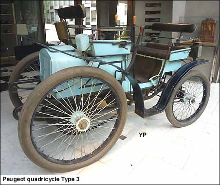 Peugeot quadricycle Type 3