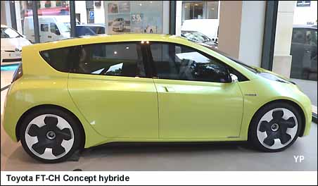 Toyota FT-CH Concept hybride