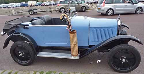 Citroën type C (5 HP) (doc. Yalta Production)