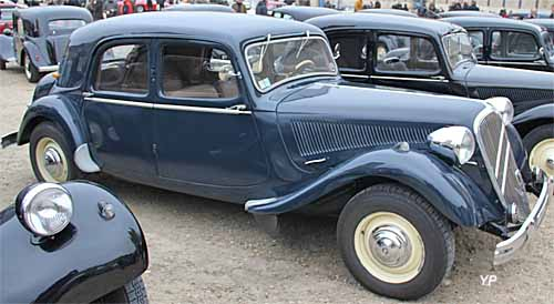 Citroën Traction 15-6 malle Raoul