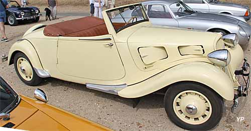 Citroën Traction 11BL Perfo cabriolet