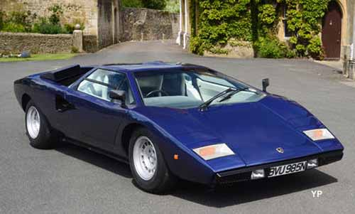 Lamborghini Countach LP400 'Periscopio' Coupé <br /> (doc. Bonhams)