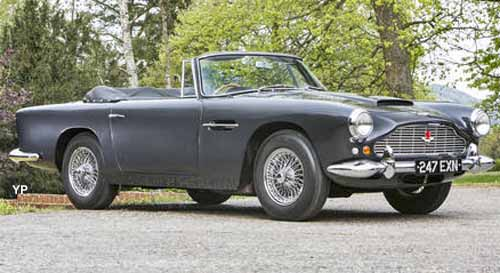 Aston Martin DB4 Convertible <br /> (doc. Bonhams)