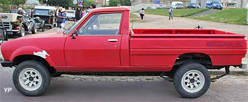 peugeot 504 4x4 pick up dangel guide automobiles anciennes. Black Bedroom Furniture Sets. Home Design Ideas