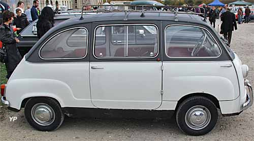 fiat 600 multipla 6 places guide automobiles anciennes. Black Bedroom Furniture Sets. Home Design Ideas