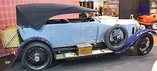 Rolls-Royce Silver Ghost open tourer Million-Guiet d'Ettore Bugatti <br />