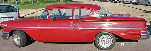 Chevrolet Bel-Air 1958 Hardtop Sport Sedan 2 doors