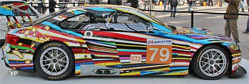 BMW M3 GT2 - Art Cars Jeff Koons