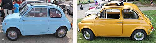 Fiat 500 D (1957) et Fiat 500 L (1968) (doc. Yalta Production)