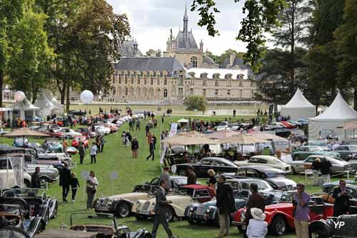 Les clubs au Concours de Chantilly (doc. Yalta Production)