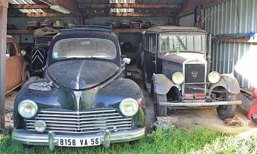 une nouvelle collection cach e mise en vente le 26 mars guide automobiles anciennes. Black Bedroom Furniture Sets. Home Design Ideas