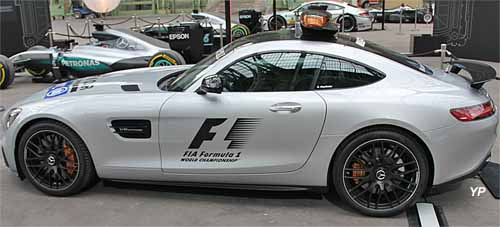Mercedes AMG-GT Safety F1