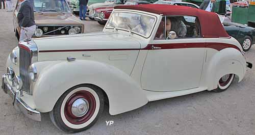 Alvis TA21 DHC (Drophead Coupé) Grey Lady