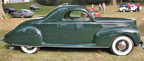 Lincoln Zephyr coupé 1939