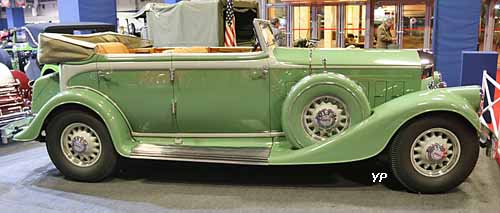 Pierce-Arrow Twelve Convertible Sedan LeBaron