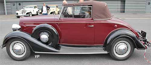 Chevrolet Master Deluxe Cabriolet 1934
