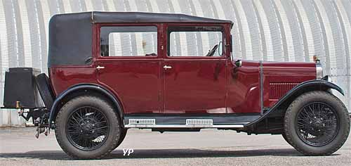 Austin Six 16/6 all-weather Saloon Salmons & sons