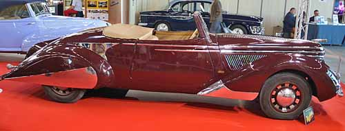 Citroën Traction 11 B cabriolet Clabot