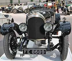 Bentley 3l Speed Model Tourer Vanden Plas