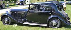 Bentley 3.5l Fourdoor sports Mann Egerton