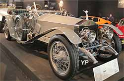 Rolls-Royce Silver Ghost Londres-Edimbourg